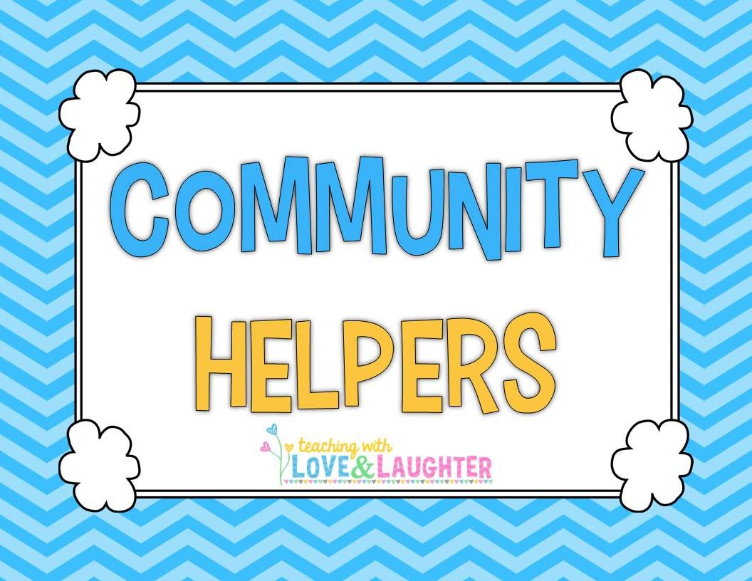 Pin By Teaching With Love Amp Laughter On Community Helpers