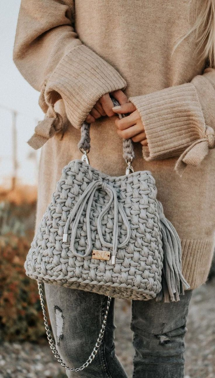30+ Best And Creative Crochet Bag Patterns 2019 - Seite 20 von 39 - Womenselegance. com, #Bag... #bagpatterns