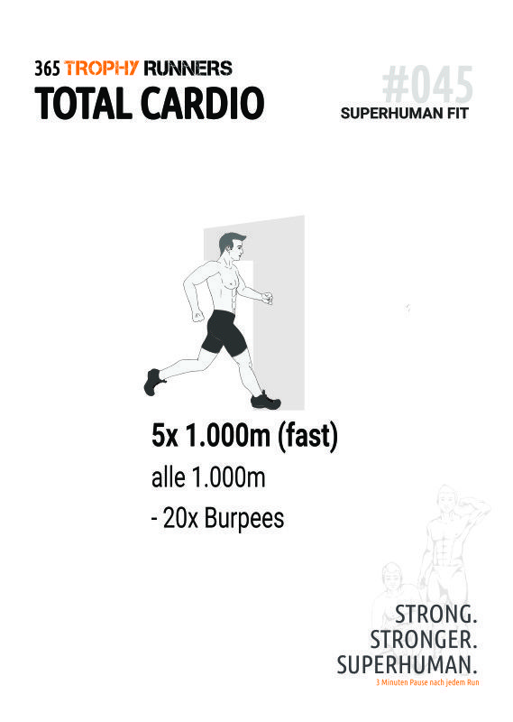Trophy Runners 365 - Total Cardio Workout