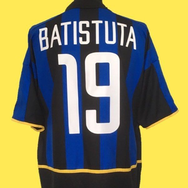 2002-03 Inter Milan Batistuta  19  cultfootball Link in bio  inter   intermilan  internazionale  nike  nikefootball  seriea  batigol  batistuta   football ... d43e062b3