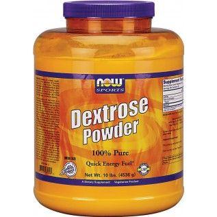 Now Dextrose Powder Quick Energy Nutritional Supplements Nutrition