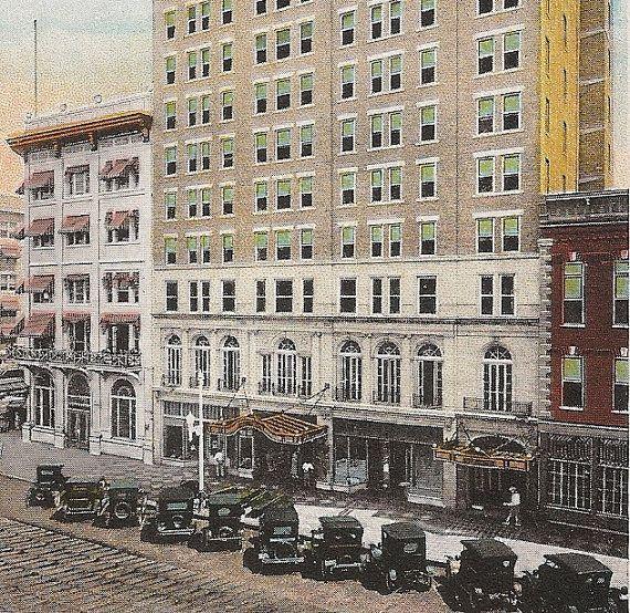 Pheil Hotel, St. Petersburg Florida, Early 1900's Postcard