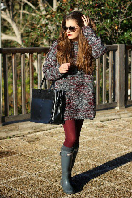 2017 Stylish Winter Outfit Ideas With Dresses