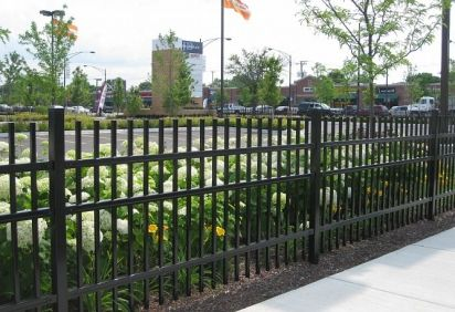 Professional Wrought Iron Fence In Austin Tx Rails Repair With
