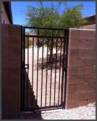 Basic Pedestrian Gate Custom Gates Gate Driveway Fence