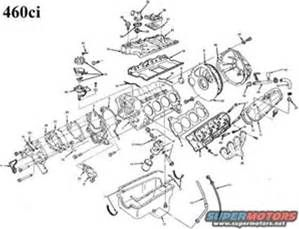 ford 460 parts diagram - bing images