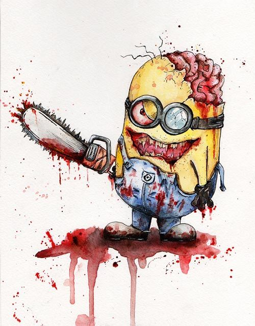 Zombie Version Minion Zombies In 2018 Pinterest Minions