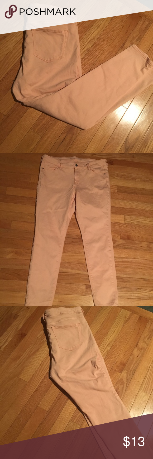 ac91fec772ae3 Peach Rockstar Jeggings 🍑 Old Navy rockstar jeggings!! Stretchy and  comfortable! Old Navy Jeans
