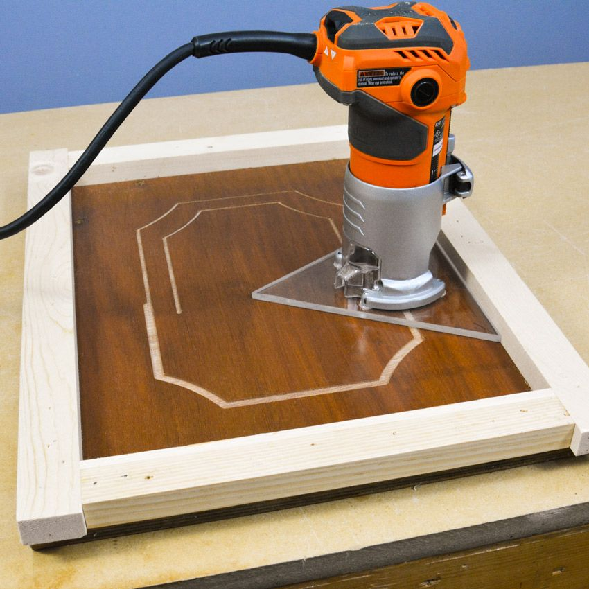 how to make a router jig