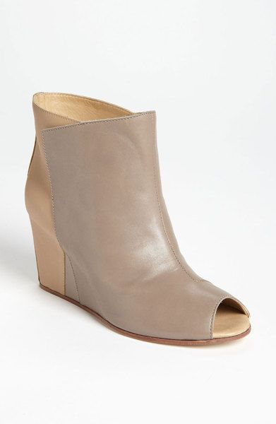 91ff7abe6302 Two Tone Bootie - Lyst from maison martin margiela
