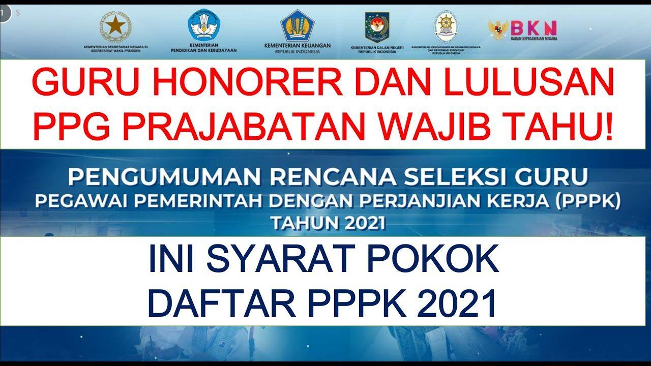 28++ Jadwal pendaftaran pppk 2021 formasi cpns