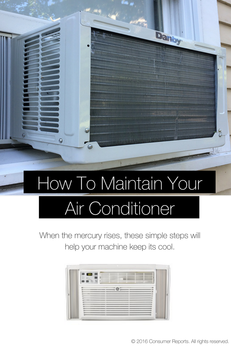 How to Maintain Your Air Conditioner Window air
