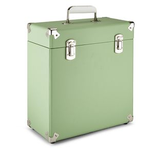 Gpo Retro Portable Carry Case For Lp Records And 12 Inch Vinyl Green Vinyl Record Storage Album Storage Record Storage