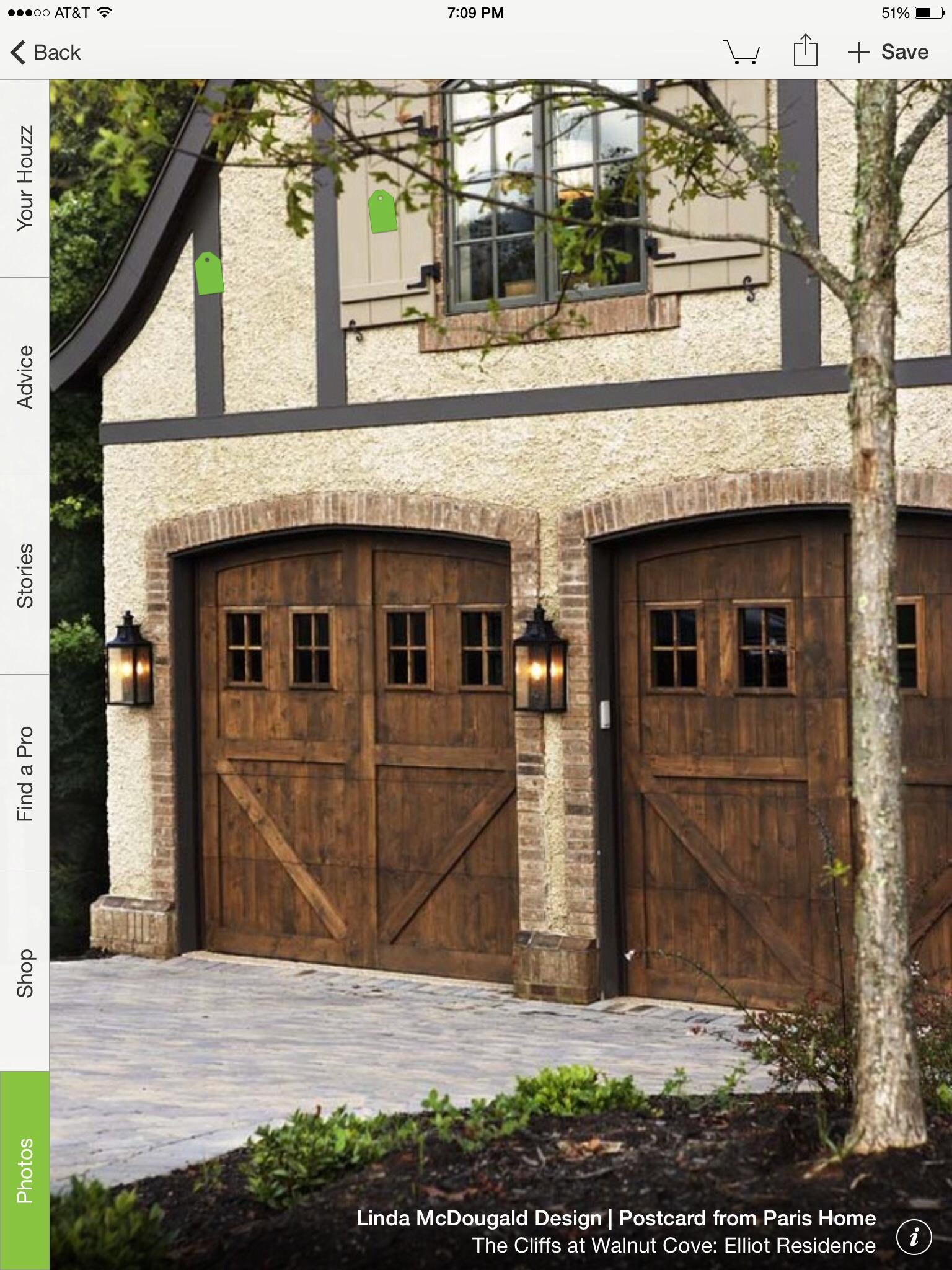 Garage door windows that open  Pin by Brooke Dillon on House designs  Pinterest  Garage doors