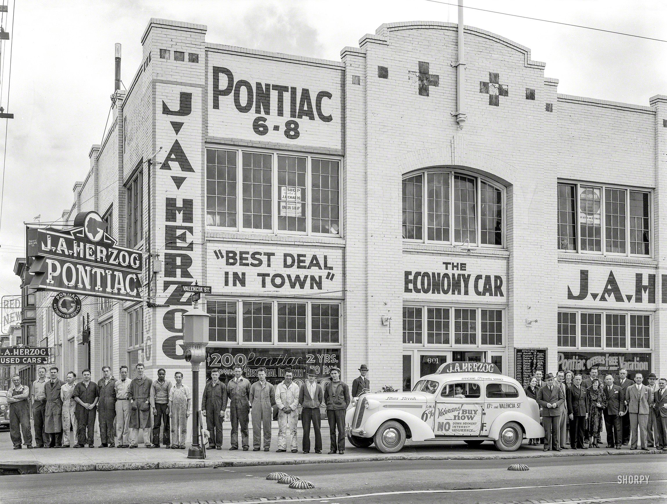 Best Deal In Town June 3 1936 J A Herzog Pontiac 17th