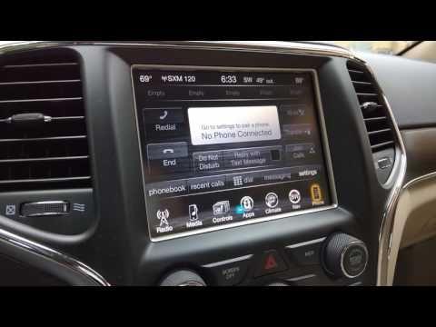 2014 2017 Jeep Cherokee Factory Gps Navigation Radio Upgrade