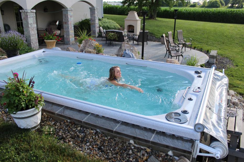Swim Spa Ideas Beautiful Swim Spa Pool Hot Tub Swimming Pool Spa