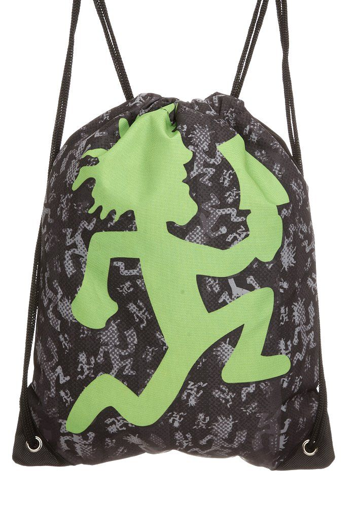 Insane Clown Posse ICP camo camouflage hatchetman juggalette purse NEW