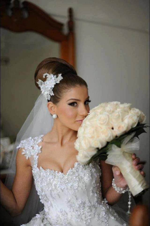 peinado de novia alto!!! peinados v Pinterest Novio alto