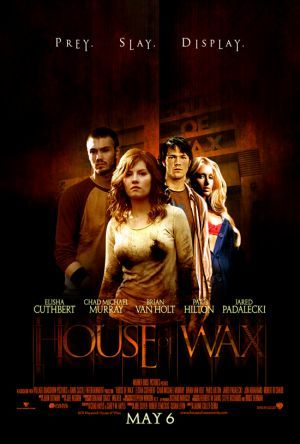 House Of Wax I Hate But Also Love This Movie Its Scary As Hell But I Have Memories With It