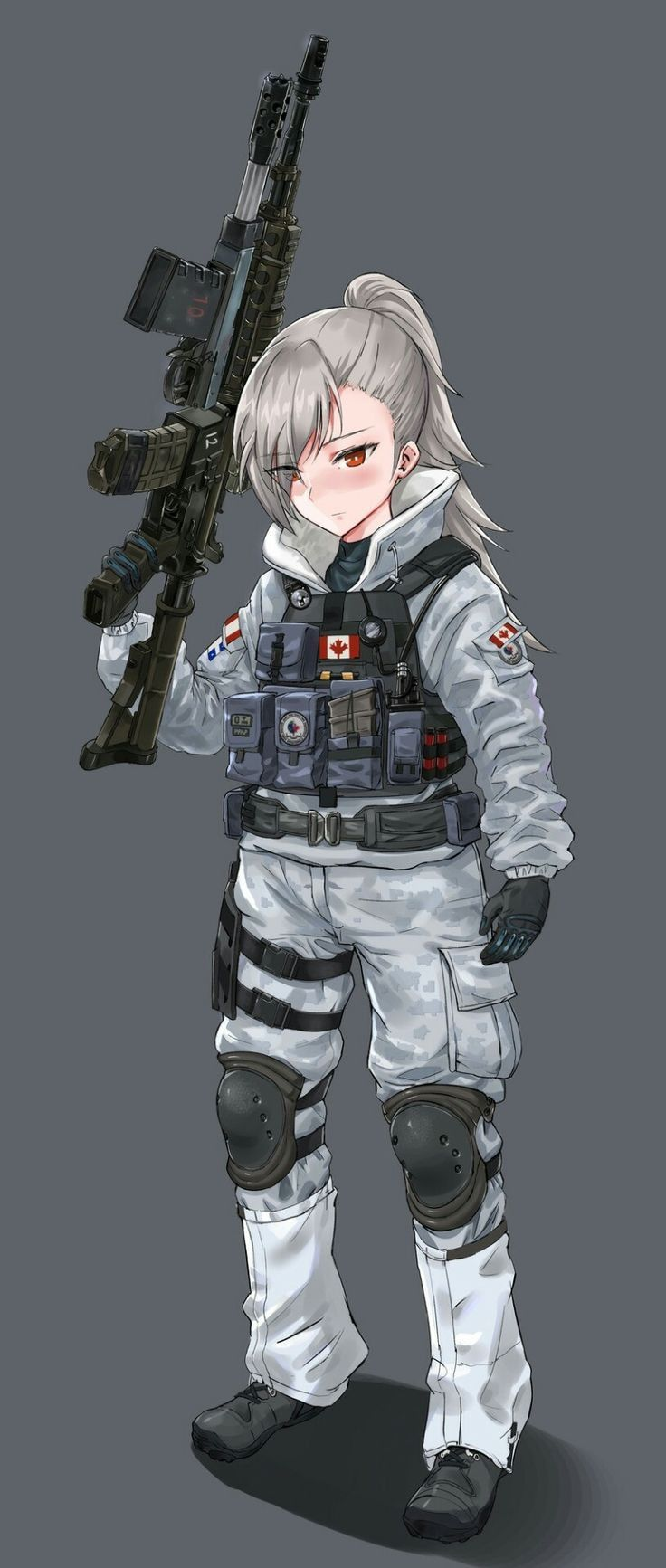 Pin by ethan phuah on anime character in 2018 pinterest dessin manga dessin militaire and - Dessins manga fille ...