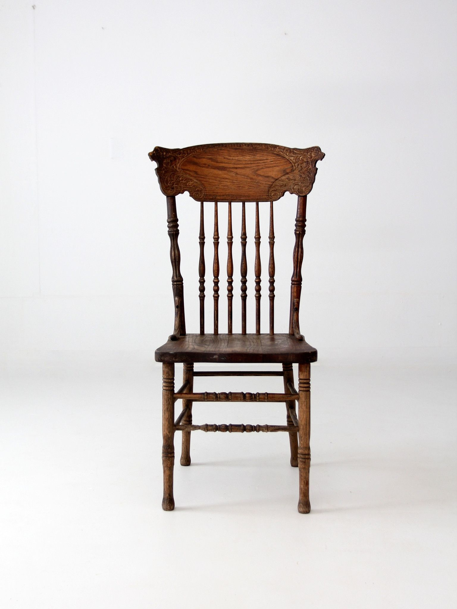 Antique wood dining tables antique oak press back chair  chair obsession  pinterest  antique
