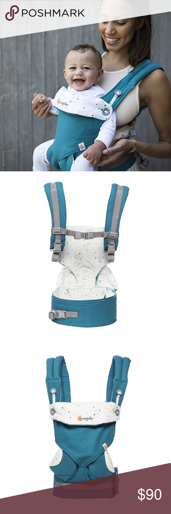 62fd7f36df4 Ergobaby 360 4 Position Baby Carrier New in box. Bundle with the infant  insert for