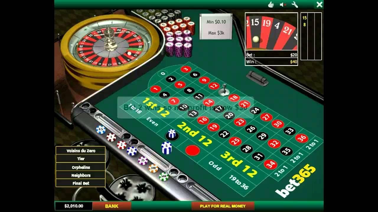 Paroli gambling system (Roulette, Baccarat) explained