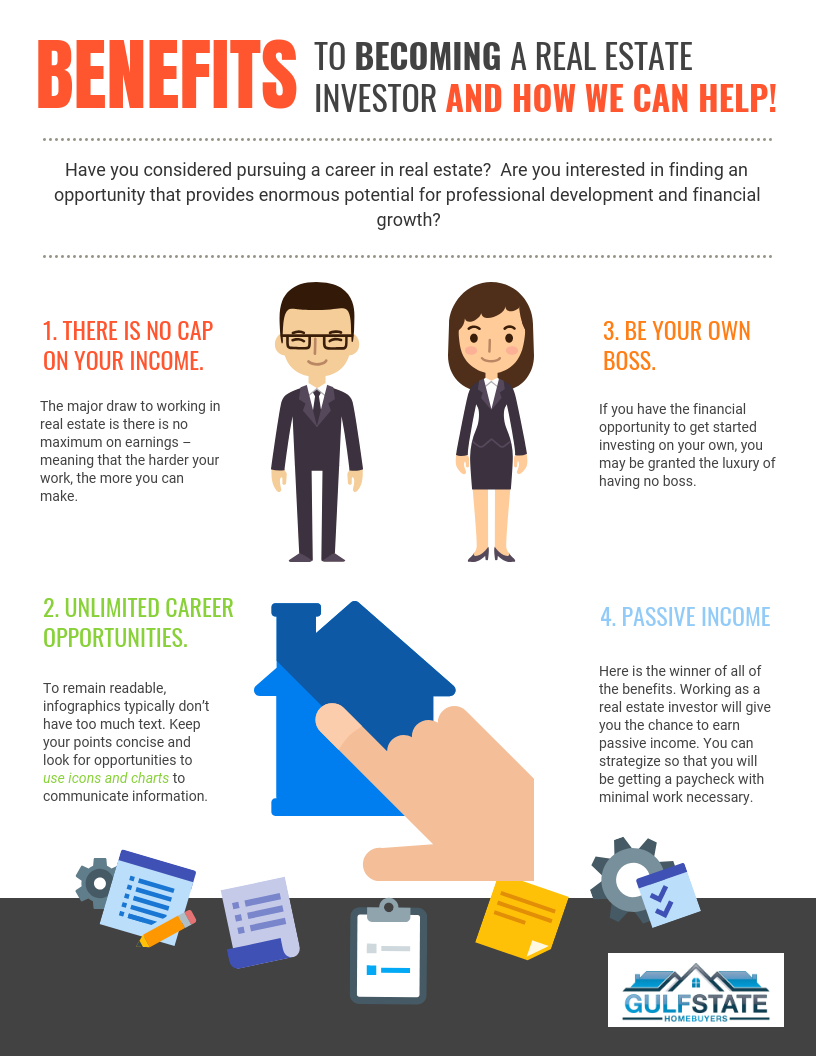 Benefits to A Real Estate Investor (And How We