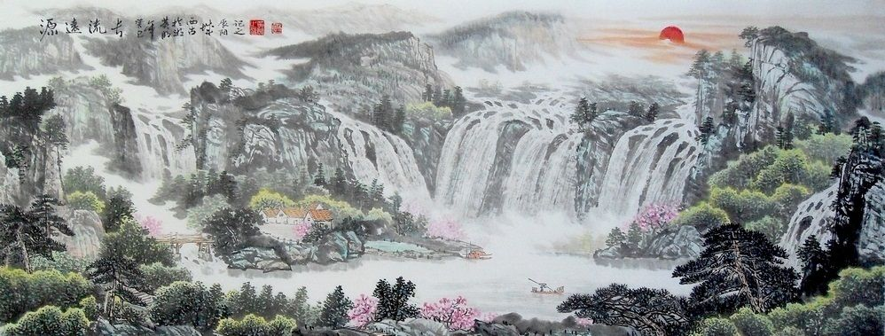 Nature Art Painting For Sale Large Paintings Landscape Painting Nature Art Painting Chinese Landscape Painting Landscape Paintings