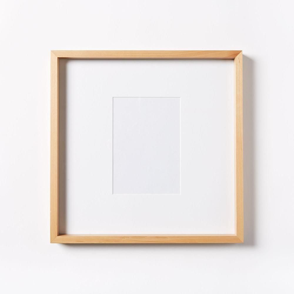 Thin Wood Gallery Frames - Bamboo | west elm AU | Picture frame ...