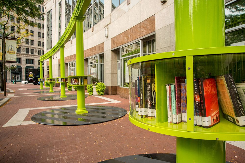 Nine Artist Designed Miniature Book Sharing Libraries Appear In Indianapolis Little Free