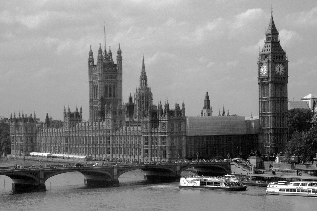old london big ben