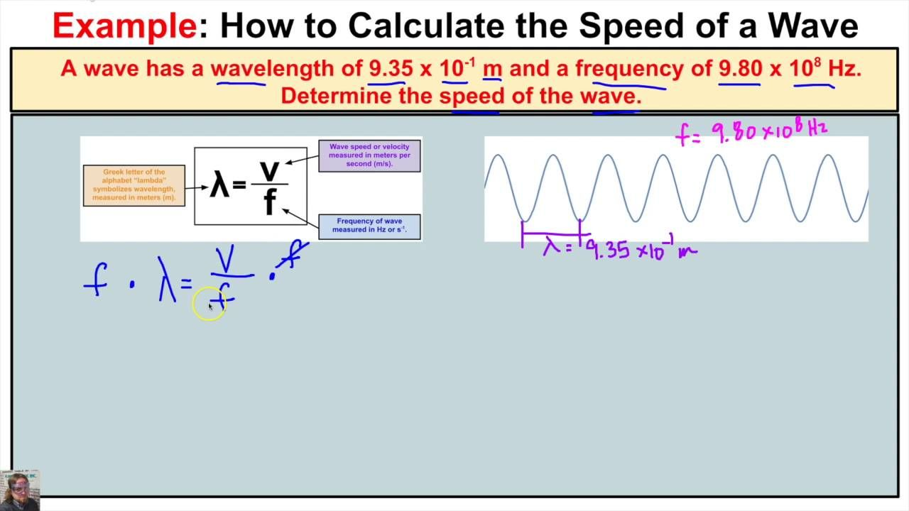 How to calculate the wave speed of a wave when wavelength and how to calculate the wave speed of a wave when wavelength and frequency pooptronica