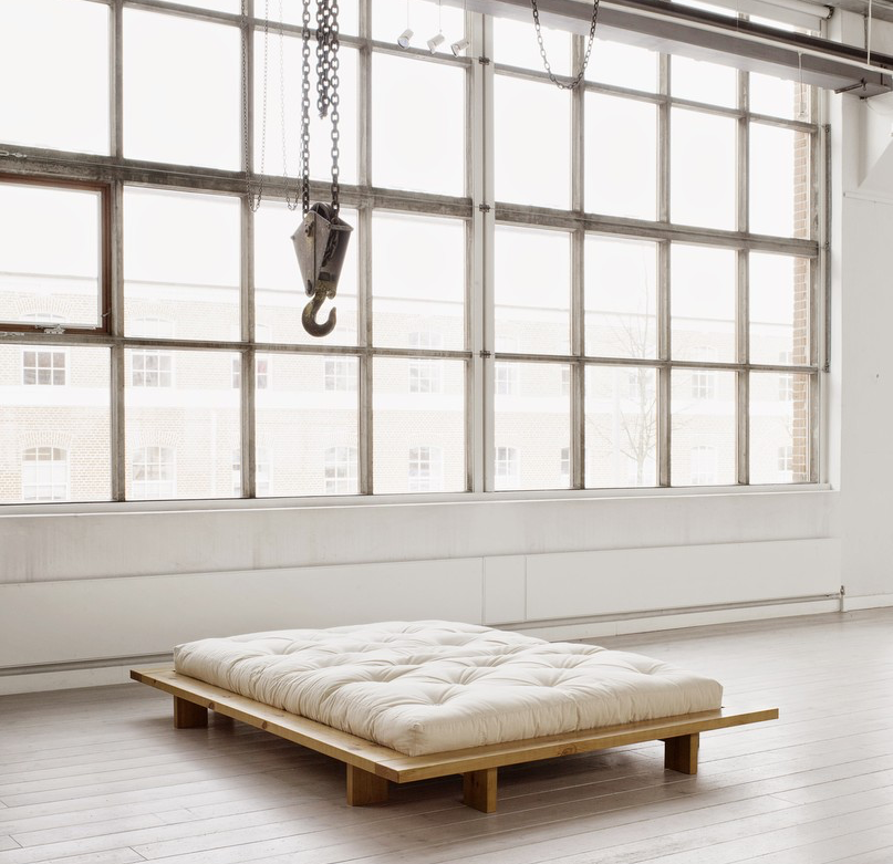 Life on Sundays Minimalist bed, Futon bed frames