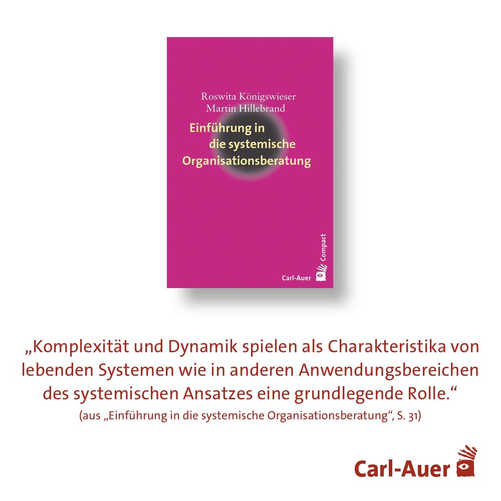 Einfuhrung In Die Systemische Organisationsberatung Systemisch Buchzitate Systemischer Ansatz
