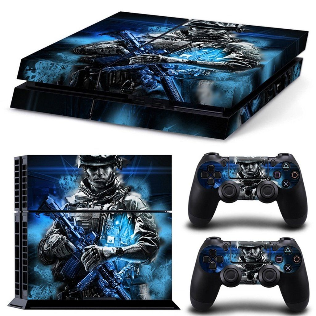 Battlefield Decal Skin Sticker for Playstation 4, PS4 2 Pc