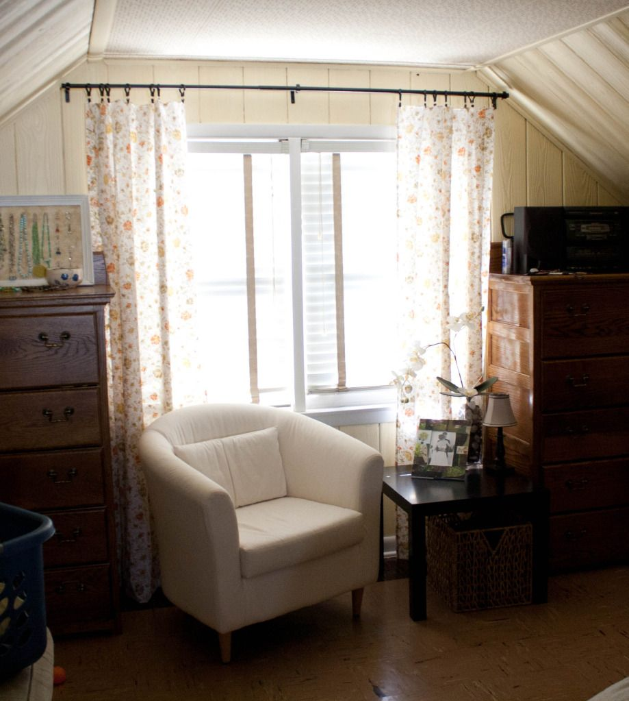 Window nook decorating ideas  cozy nook by window with twin vintage dressers  master bedroom