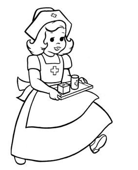 Nurses Bring Drug Equipment Coloring Pages Wenn Du Mal Buch Abc Malvorlagen Malbuch Vorlagen