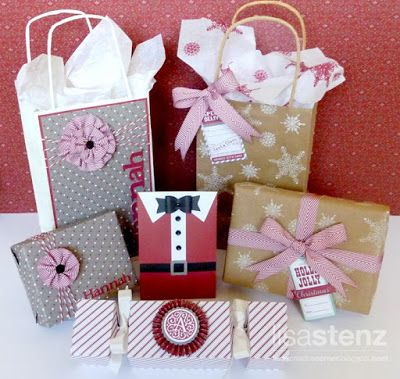 Lisa's Creative Corner: Handcrafted Holidays Blog Hop - Gift Wrapping Idea...