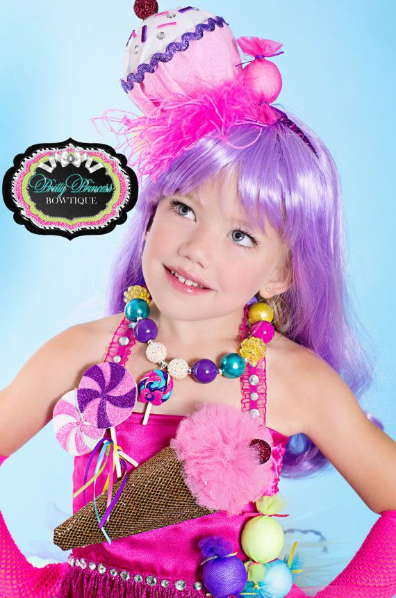 Candyland Katy Perry Chunky Beaded Necklace With By Sanchezc30 34 95 Fantasia Carnaval Infantil Fantasias Carnaval Fantasias Para Criancas