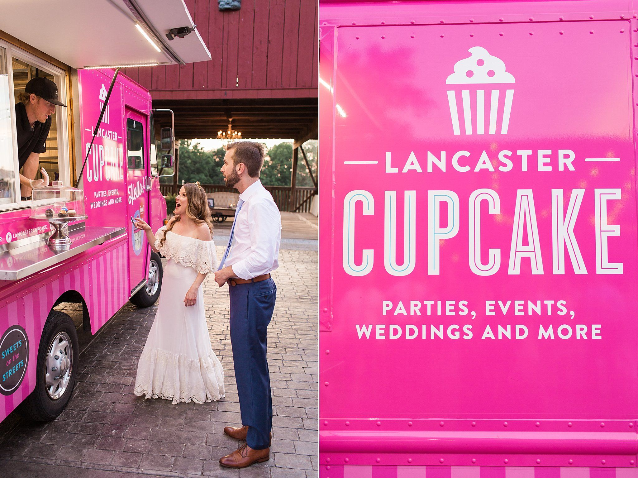 lancaster cupcake food truck wedding favor | Samantha Jay ...