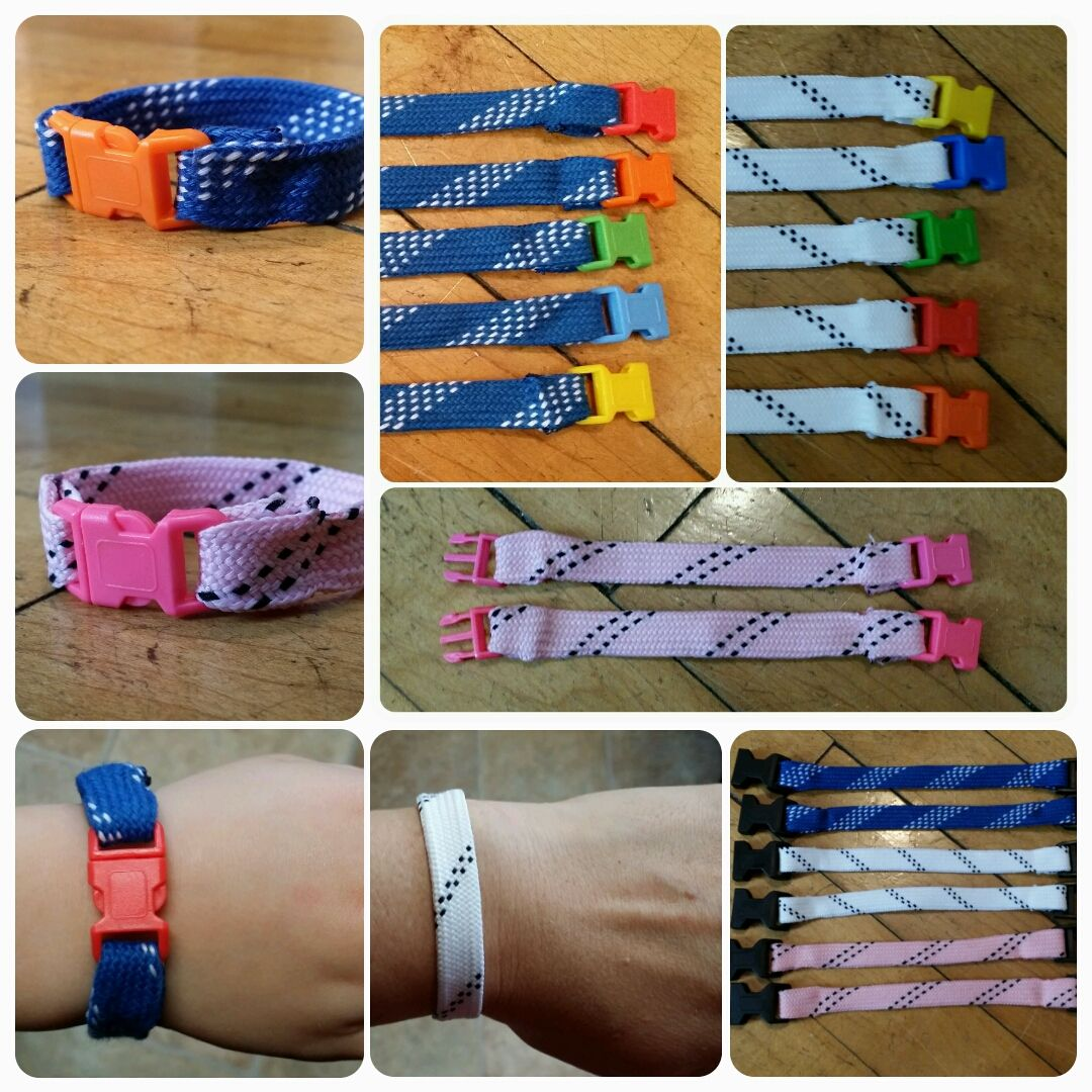 Hockey Skate Lace Bracelets Hockey Team Gifts Hockey Fundraising Hockey Birthday