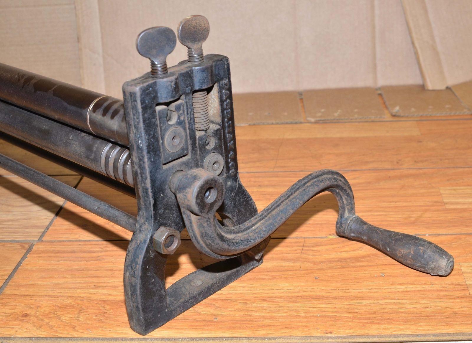 Rare Antique Sheet Metal Slip Punch Roller Machine 31 Blacksmith Tinsmith Tool Roladora Forjado
