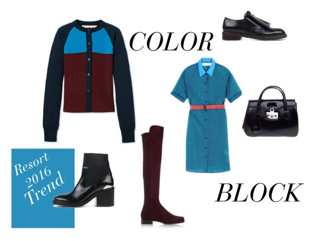 """""""cyclops"""" by wednesday-williams on Polyvore featuring Victoria, Victoria Beckham, Marni, Stuart Weitzman and Gucci"""