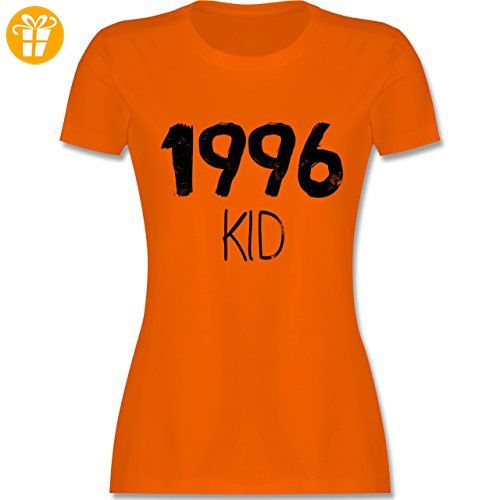 Geburtstag - 1996 KID - S - Orange - L191 - tailliertes Premium T-Shirt