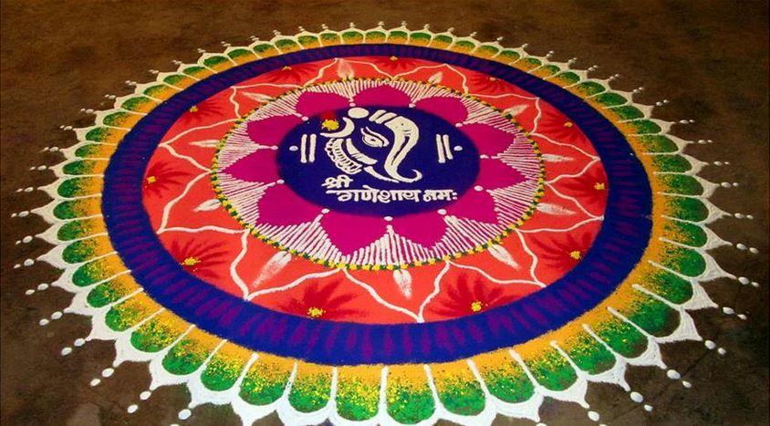 Sanskar Bharti Rangoli Designs - Rangoli | Rangoli designs ...