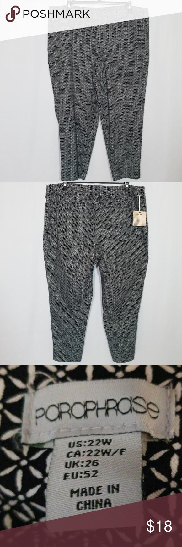 Nwt Paraphrase Career Dres Pant Size 22 W Pants