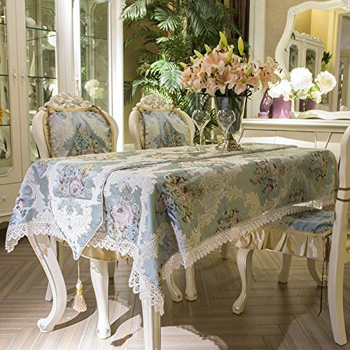 High Grade European Table Cloth Fashion Dining Table Tablecloth