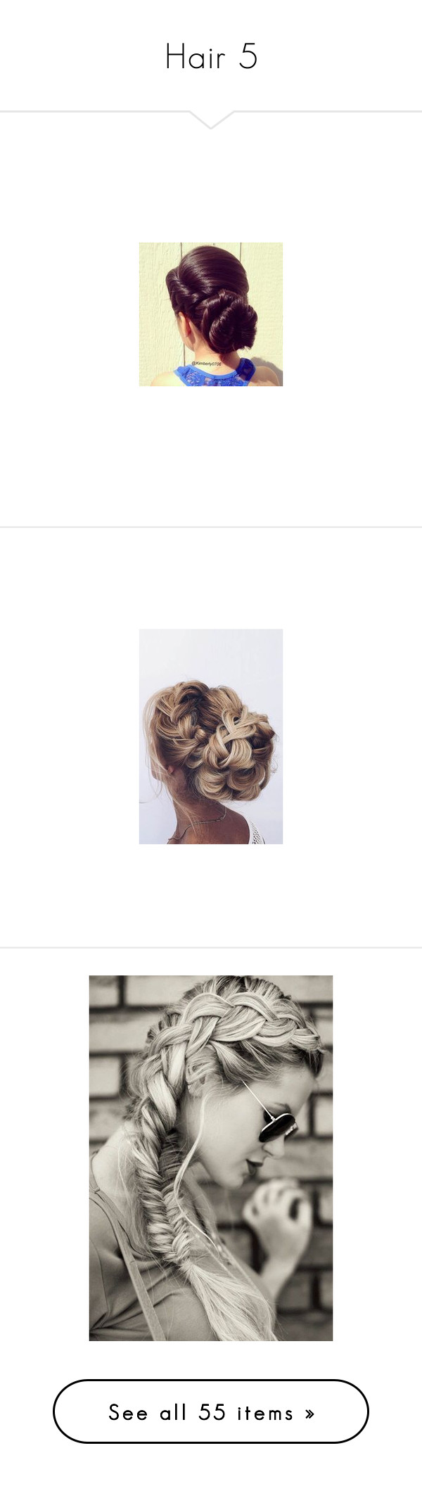 """""""Hair 5"""" by godgirl18 ❤ liked on Polyvore featuring beauty products, haircare, hair styling tools, hair, long hair accessories, accessories, hair accessories, hairstyles, bride hair accessories and bridal hair accessories"""